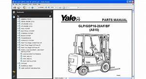 Yale Forklift Glp    Gdp16  Bf  A810  Spare Parts