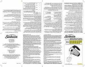 Mixmaster 2559 Manuals