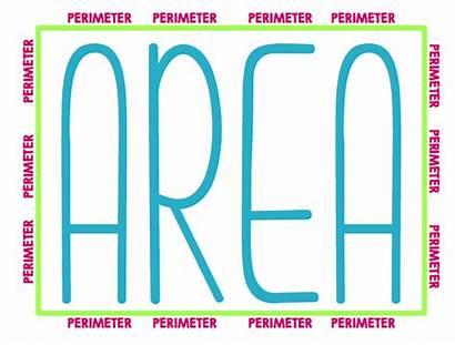 Perimeter Area Math Visual Partying Awesomeness Grade