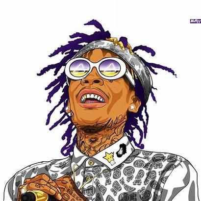 Wiz Tattoo Tupac Dope Rapper Trill Type