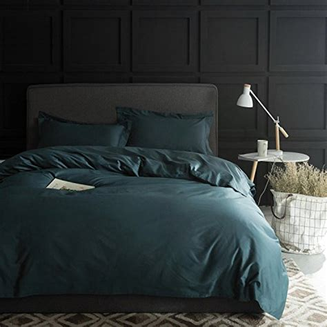high thread count duvet cover solid color cotton duvet cover luxury bedding set