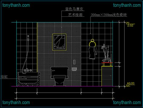 Bathroom Cad Block by Restroom Cad Blocks Elevation Of Toilet Plan View Side