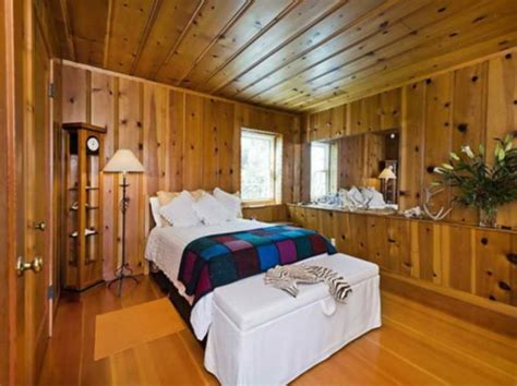 special wood paneling  walls loccie  homes