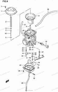 Suzuki Motorcycle 1999 Oem Parts Diagram For Carburetor