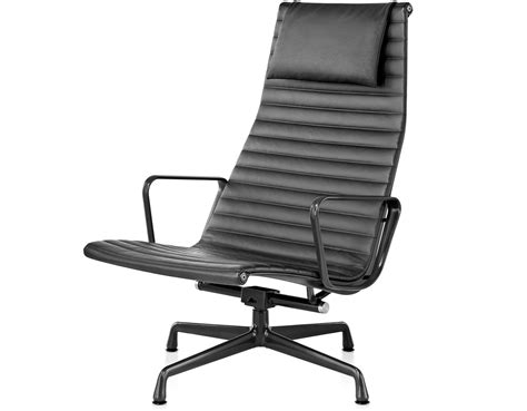 eames 174 aluminum lounge chair hivemodern