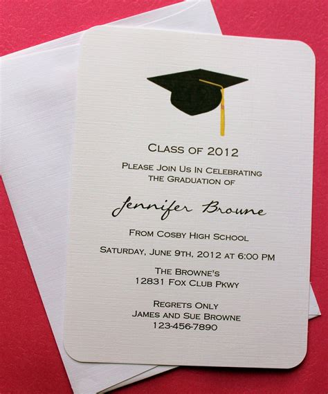 Graduation Announcements Templates Free by Collection Of Thousands Of Free Graduation Invitation