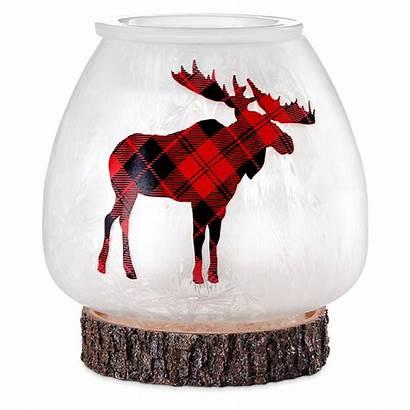 Scentsy Warmer Northern Plaid Moose Warmers Wax
