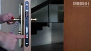 comment changer un cylindre de serrure youtube With comment changer la serrure d une porte