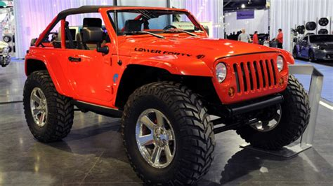 Jeep Wrangler Lower Forty by Sema 2009 Jeep Lower Forty A Favorite In The Mopar