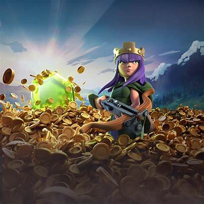 Clash Clans Archer Queen Wallpapers 4k Supercell