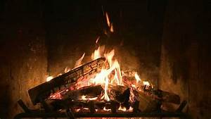 Holiday Yule Log Fireplace Video from CreativeLive - YouTube