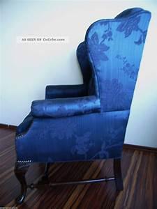 Sofa Mit Nieten : wundersch ner chesterfield sessel royal blau mahagoni mit nieten ~ Sanjose-hotels-ca.com Haus und Dekorationen
