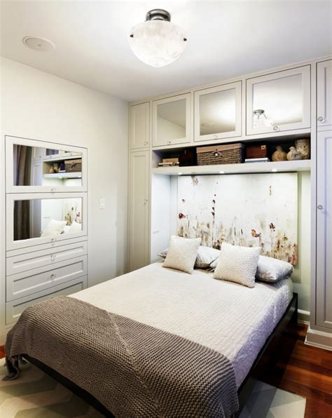 small bedroom ideas storage 57 smart bedroom storage ideas digsdigs 17168 | perfect small bedroom design where the bed has a cozy built in feel thanks to the recess created by the shelving 775x976