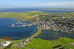 Kirkwall Harbor in Kirkwall, SC, United Kingdom - harbor ...