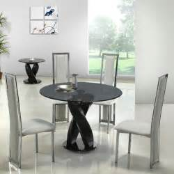 dining room designs elegant modern style round table