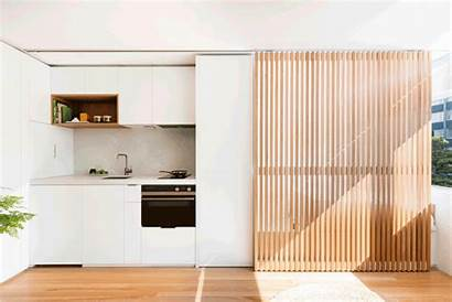 Sliding Apartment Studio Brad Kitchen Swartz Bedroom