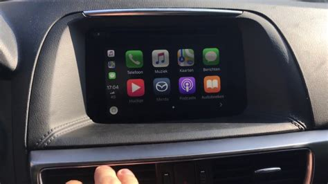 mazda apple carplay mazda cx 5 2016 retrofit installed apple carplay