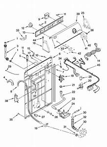 Amana Residential Washer Wiring Harness Parts