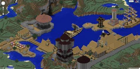 hafenstadt  minecraft bauen minecraft bauideende