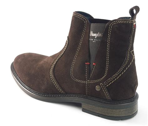 Jeep Mens Leather Ankle Boots