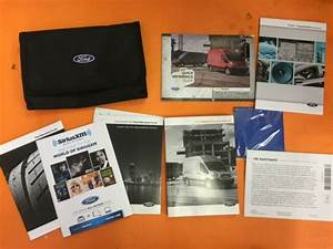 2016 Ford Transit Owners Manual User Guide Book Case Oem