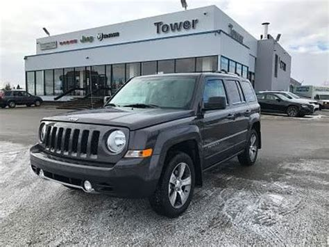 Tower Chrysler by 2017 Jeep Patriot High Altitude 4x4 H7609 Tower