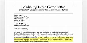 marketing intern cover letter sample guide resume With cover letter why this company
