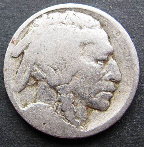 buffalo nickel no date coined for money