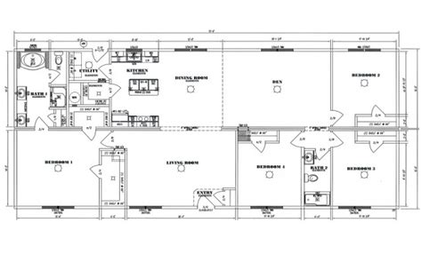 Modular Homes Floor Plans  Modern Modular Home