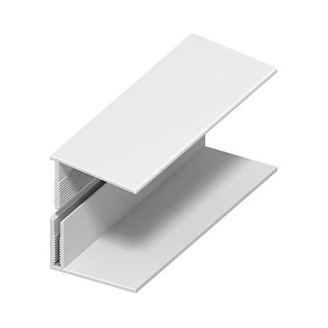 Melamine Window Sills by Wickes Pvcu White Top Vertical Edge Cladding Trim 2500mm