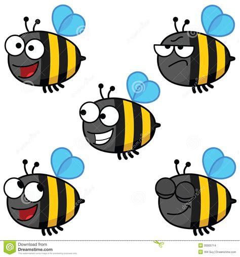 Cartoon Bee Color