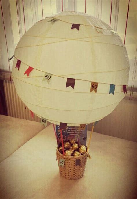 geschenk ballonfahrt  geburtstag geschenke geschenke
