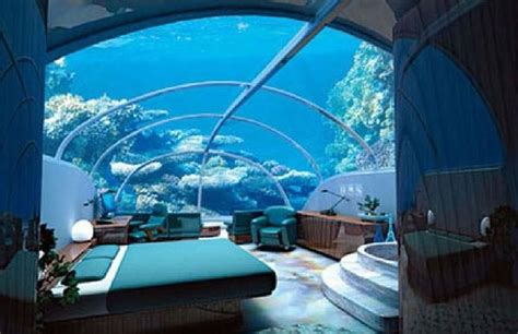poseidon undersea resort underwater hotel room awesome