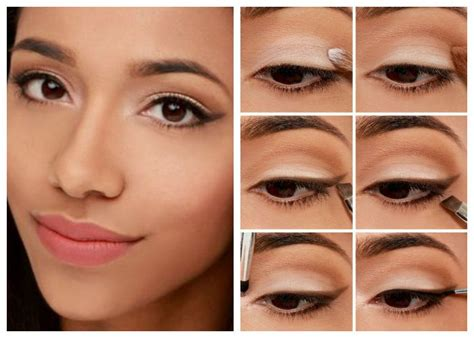 Модный макияж для карих глаз
