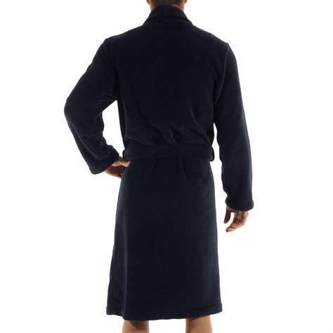 robe de chambre en polaire robe de chambre baikal christian en polaire bleu