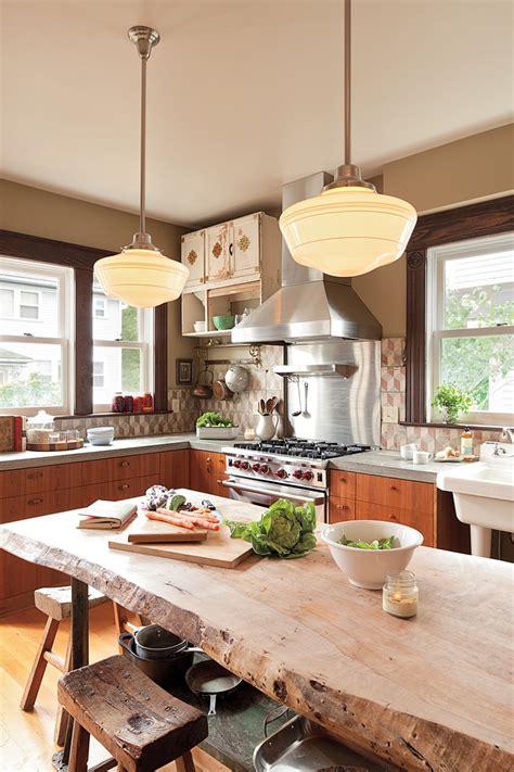 pairing with sleek designs through live edge tables