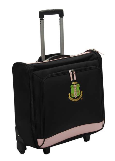 AKA Rolling Garment Bag | Alpha kappa alpha sorority, Alpha kappa alpha paraphernalia, Alpha ...