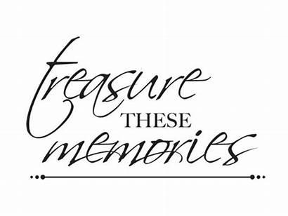 Memories Treasured Quotes Kaisercraft Stamps Scrapbook Quotesgram