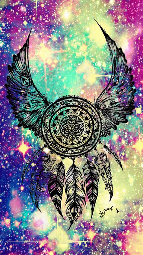 Tribal Animal Wallpaper - tribal dreamcatcher galaxy wallpaper androidwallpaper