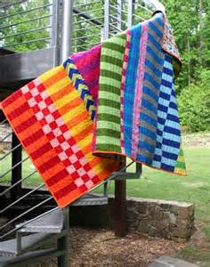 Saturated Color Quilt Pattern