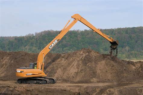 case cxb long reach tracked excavator bunton plant hire
