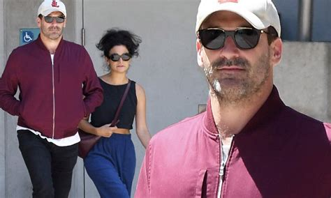 jon hamm leaves  theater  jenny slate daily