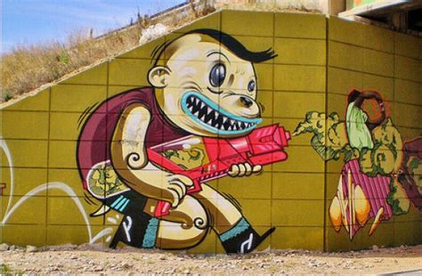 65 Awesome Graffiti Art Pictures