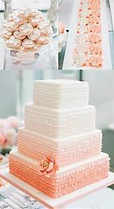 25+ best Peach wedding cakes ideas on Pinterest