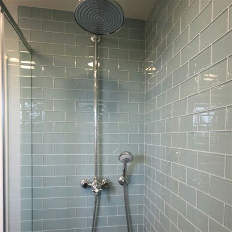 Light Blue Subway Tile Bathroom by The Bathroom Design Trends Subway Tile Redfin