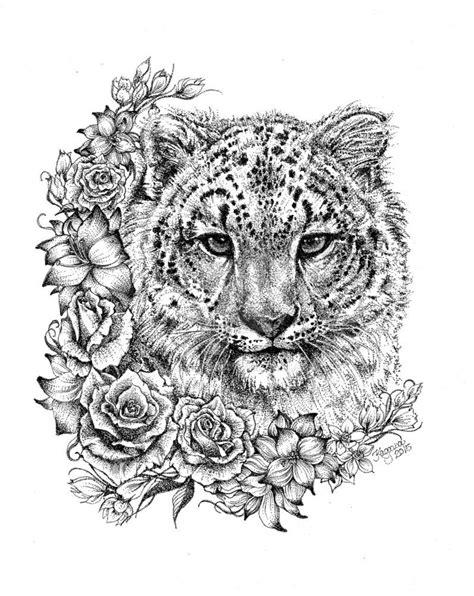 Snow+Leopard+by+LKBurke29.deviantart.com+on+@DeviantArt
