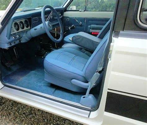 jeep cherokee chief interior interior fully restored blue levi edition jeep cherokee