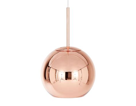 copper shade pendant light hivemodern