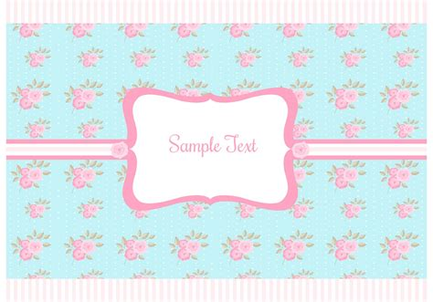 Free Shabby Chic Style Background  Download Free Vector