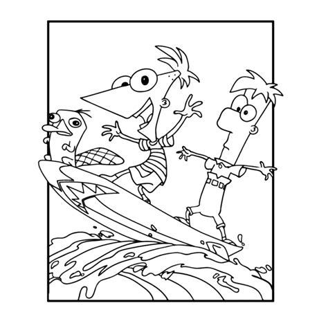 Phineas And Ferb Kleurplaat by Phineas En Ferb Kleurplaten Leuk Voor